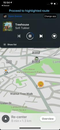 Waze Audio Player, una experiencia de conducción perfecta - player-within-waze_deezer
