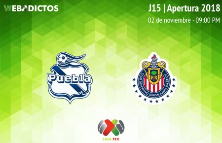 Puebla vs Chivas, J15 del Apertura 2018 ¡En vivo por internet!