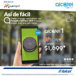 Ofertas de El Buen Fin 2018 en celulares Alcatel