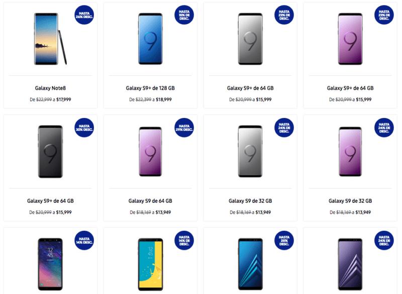 Ofertas de Samsung en el Buen fin 2018 ¡hasta 50% de descuento! - smartphone-samsung-buen-fin-2018-e1542316152341-800x586