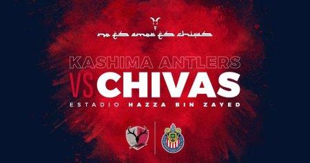 Chivas vs Kashima Antlers en el Mundial de Clubes 2018 ¡En vivo!