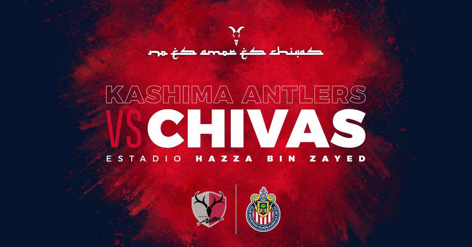 Chivas vs Kashima Antlers en el Mundial de Clubes 2018 ¡En vivo! - chivas-vs-kashima-mundial-clubes-2018
