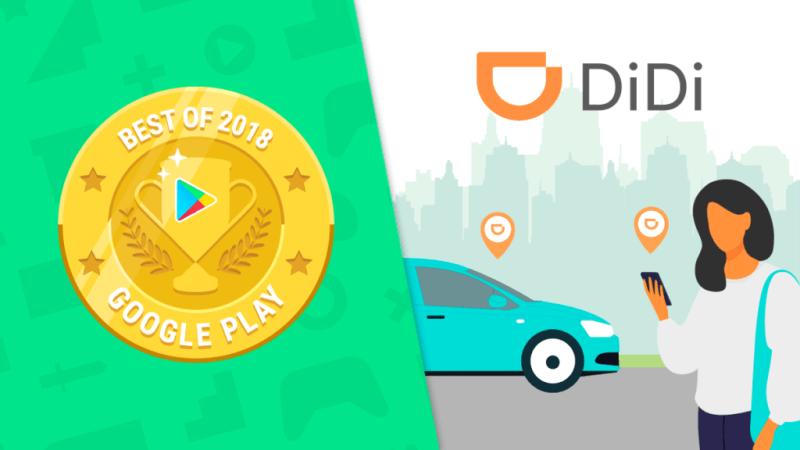 La app DiDi es premiada por Google Play como mejor app en los Google Play Best 2018 - didi-googleplayaward-800x450