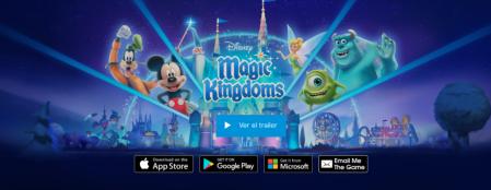 Disney Magic Kingdoms alcanza los 100 millones de euros en ingresos en todo el mundo