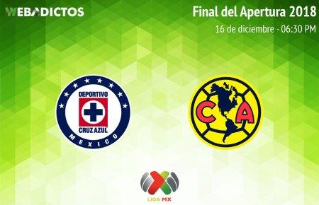 Cruz Azul vs América, Final Liga MX A2018 ¡En vivo por internet! | Vuelta