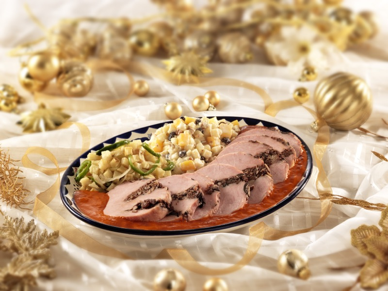 Los platillos tradicionales en las fiestas decembrinas y su gran herencia culinaria - lomo-de-cerdo-800x600