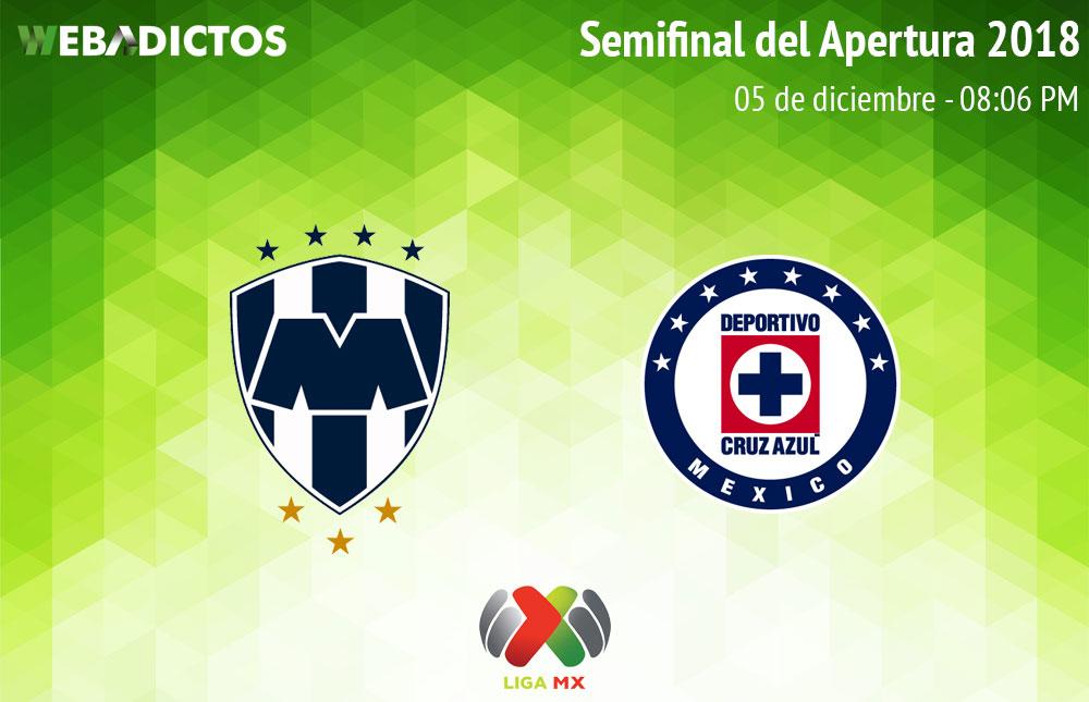 Monterrey vs Cruz Azul, Semifinal Liga MX A2018 ¡En vivo por internet! - monterrey-vs-cruz-azul-semifinal-a2018