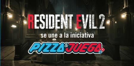 Resident Evil 2 se une #DominosPizzaYJuega con el Combo Gamer de Resident Evil 2