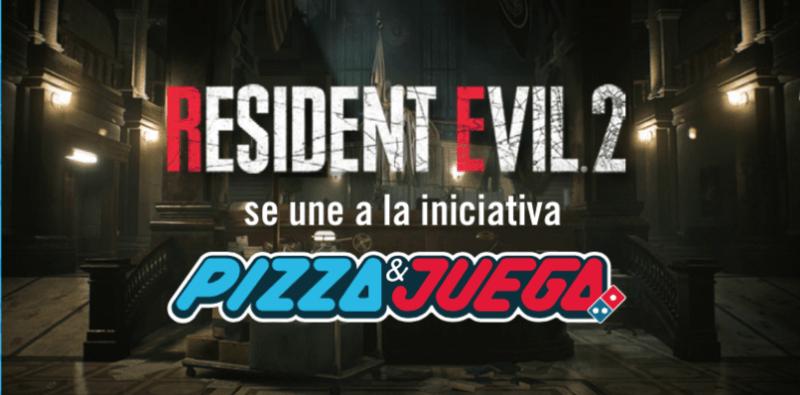 Resident Evil 2 se une #DominosPizzaYJuega con el Combo Gamer de Resident Evil 2 - resident-evil-2-800x395