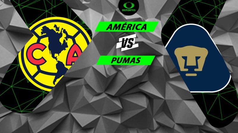 América vs Pumas, Semifinal del Apertura 2018 ¡En vivo por internet! - semifinal-america-vs-pumas-a2018