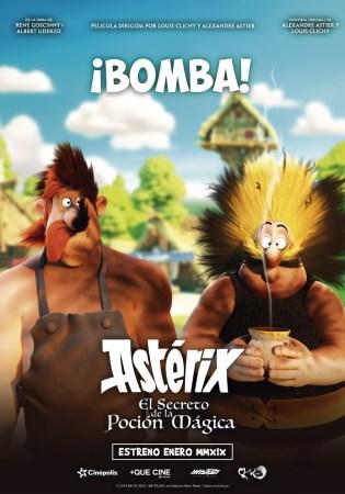"""Cinépolis presenta en México y en exclusiva """"Asterix, el secreto de la poción mágica"""" el 18 de enero"""