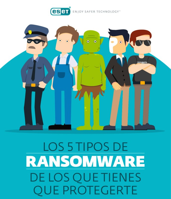Los cinco tipos de ransomware que más afectan a los usuarios - eset-tipos-ransomware-689x800