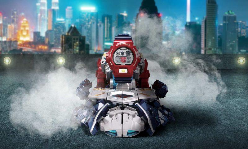 G-SHOCK en colaboración con TRANSFORMERS presenta un modelo épico del icónico Optimus Prime - g-shock-x-transformers