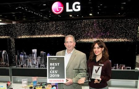 LG recibe más de 140 premios y reconocimientos durante CES 2019