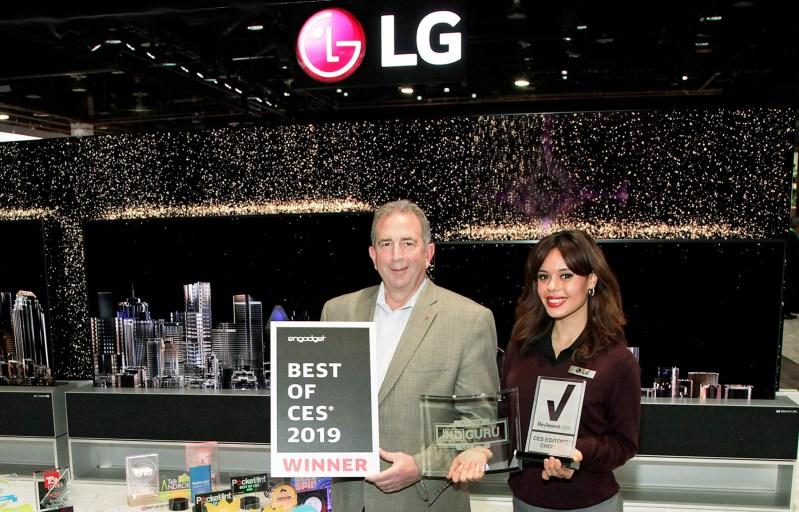 LG recibe más de 140 premios y reconocimientos durante CES 2019 - lg-ces-awards
