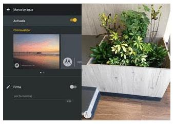 La nueva actualización de cámara de Motorola - marca-de-agua