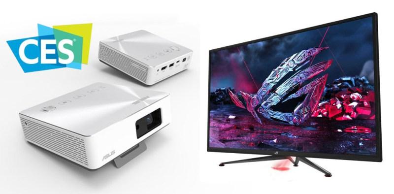 Productos ASUS y ASUS ROG galardonados con premios a la innovación CES 2019 - proyector-monitor-asus-ces