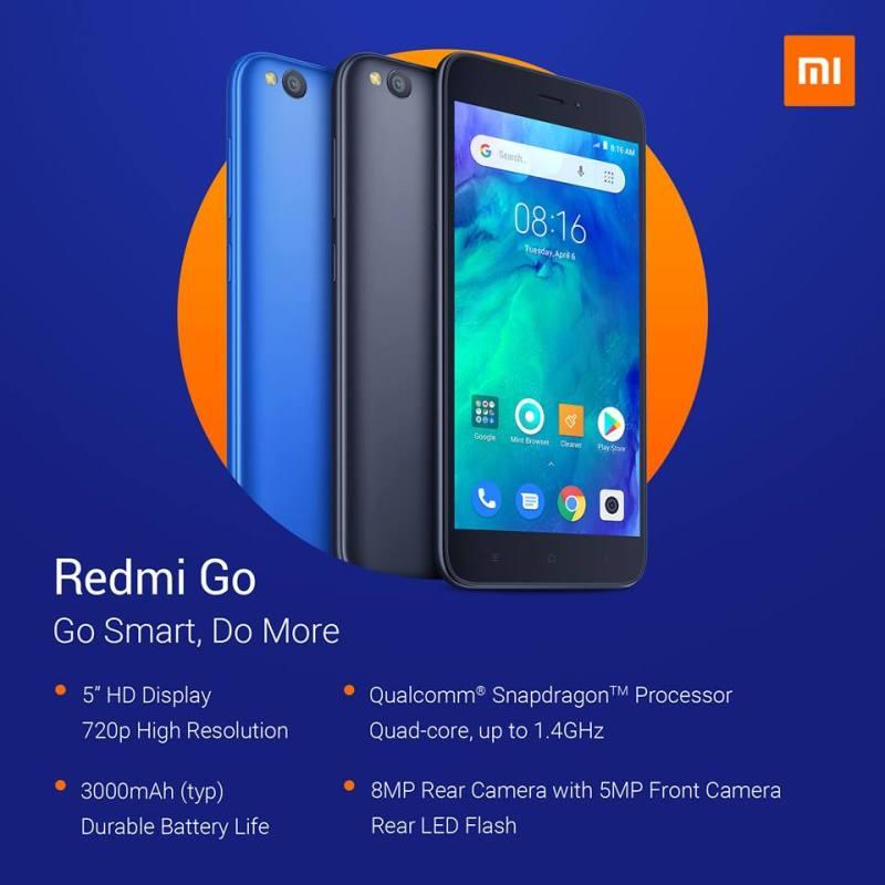 El Redmi Go ya es oficial: costará 80 euros - rg1