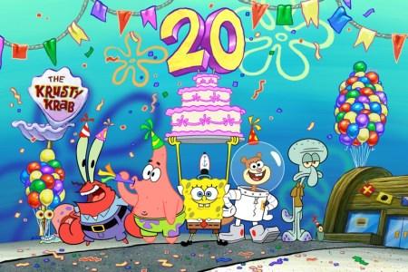 Nickelodeon conmemora 20 años de Bob Esponja