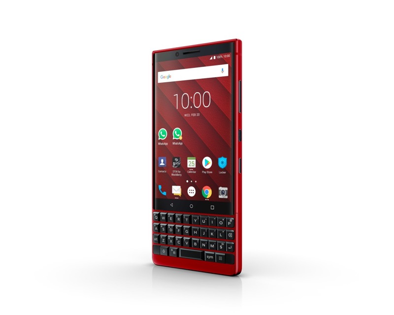 BlackBerry KEY2 Red Edition es presentado en el MWC19 - bb-key2-red-2019_3-800x640