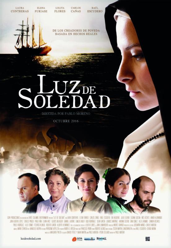 """""""Luz de soledad"""" llega a las pantallas de cinépolis el 8 de febrero - cartel-luz-de-soledad"""