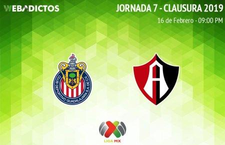 Chivas vs Atlas, Clásico tapatío en C2019 ¡En vivo por internet!