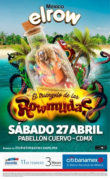 ELROW México 2019 presenta: El Triángulo de las Rowmudas - elrow-mexico-2019