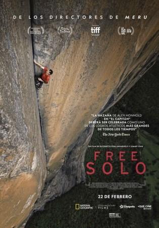 Cinépolis presenta el documental nominado al Oscar: Free Solo