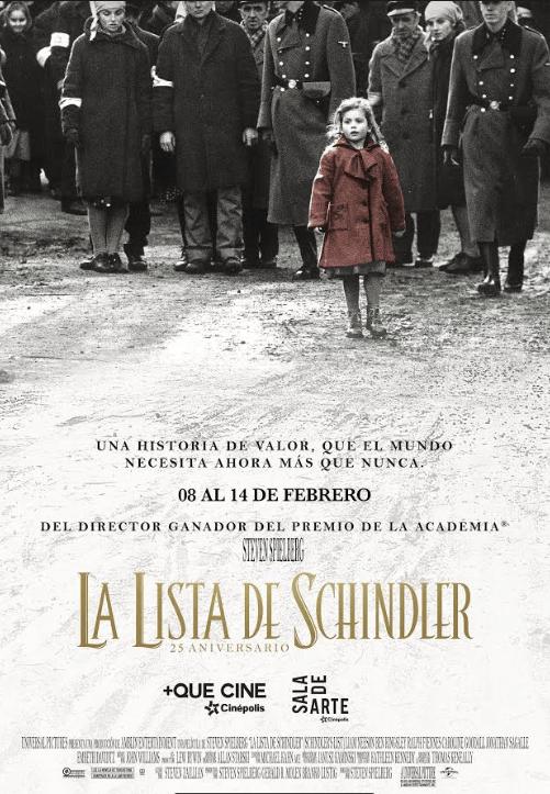 "Cinépolis re estrena ""La lista de Schlinder""a 23 años de su estreno mundial - la-lista-de-schlinder"
