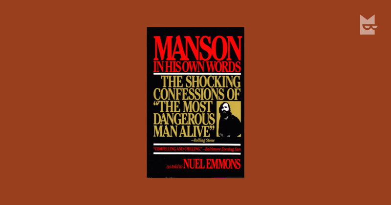 Los mejores libros para leer en 2019 - manson-in-his-own-words-bookmate