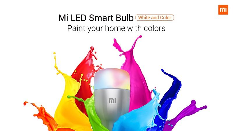 MWC 2019: Xiaomi presenta sus smartphones insignia Mi MIX 3 5G y Mi 9 - mi-led-smart-bulb-white-and-color_01