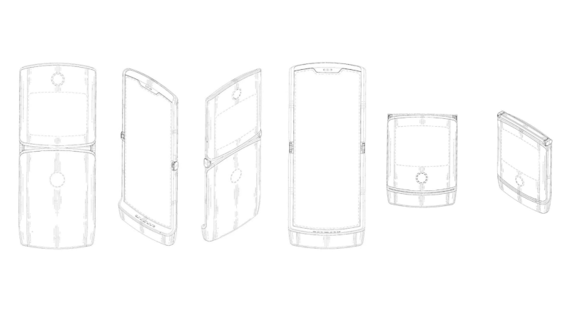 Motorola confirma el desarrollo de un teléfono plegable - motorola-foldable-phone-razr