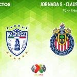 Pachuca vs Chivas, ver en vivo por internet | J8 C2019