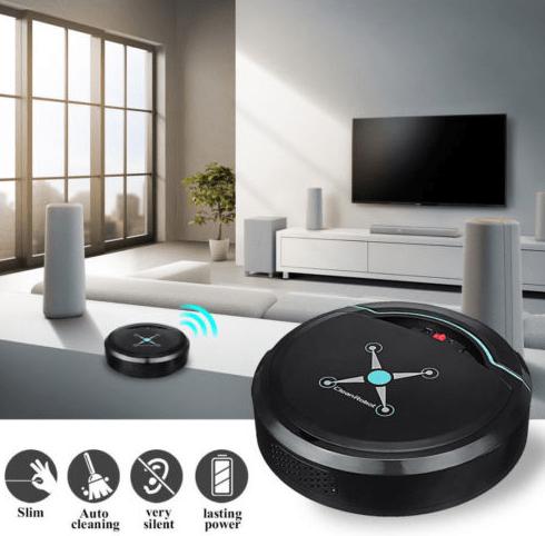 Transforma tu casa en una smart home sin gastar una fortuna - robot-limpieza