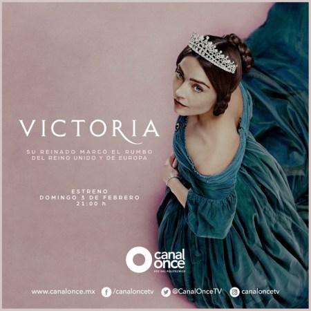 Canal Once transmitirá la multipremiada serie británica «Victoria»