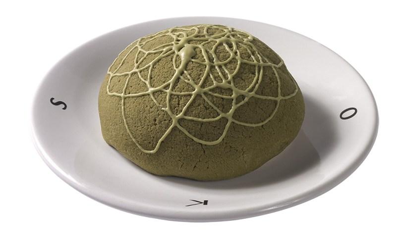 Toks presenta dos innovaciones culinarias: pay helado de tamarindo con chamoy, y una concha de matcha con chocolate blanco - toks-concha-de-te-verde