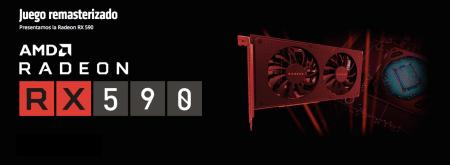 AMD Radeon RX 590, diseñada para jugadores que necesitan una tarjeta gráfica de 1080p potente y asequible
