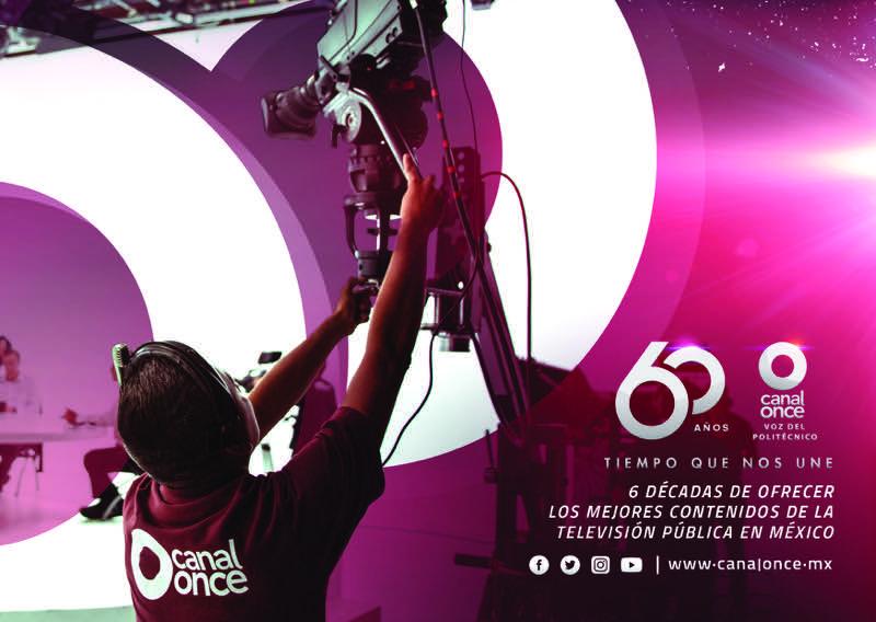 Canal Once celebra 60 años de ser la televisora politécnica - canal-once-celebra-60-aniversario