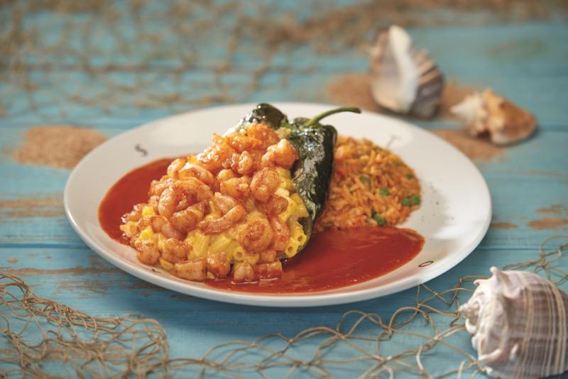 Toks presenta su menú especial de Cuaresma - chile_relleno_camarones-toks