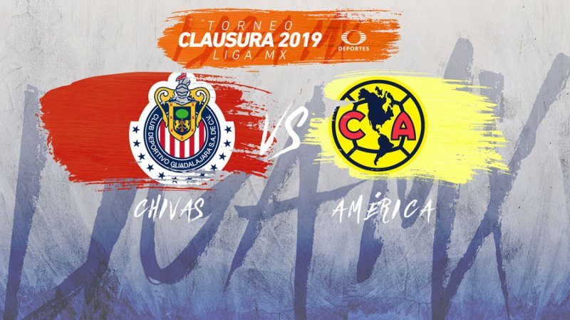 Chivas vs América, J11 del Clausura 2019 ¡En vivo por internet! - chivas-vs-america-en-vivo-16-marzo
