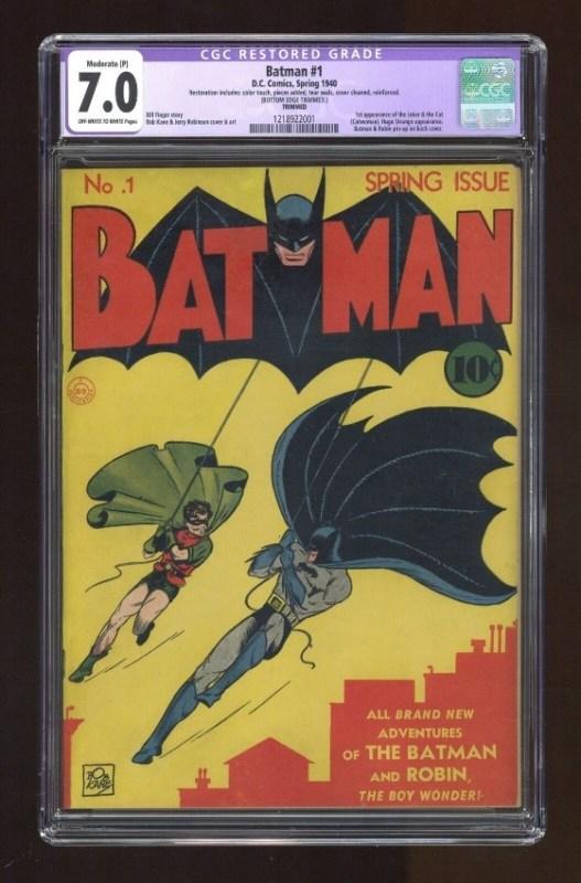 Celebra los 80 años de Batman y checa los artículos más valiosos que hay en eBay - comic