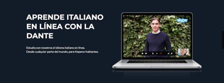 La Sociedad Dante Alighieri presenta cursos de italiano en línea