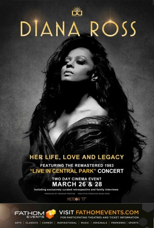 Cinepolis presentará el documental biográfico de Diana Ross