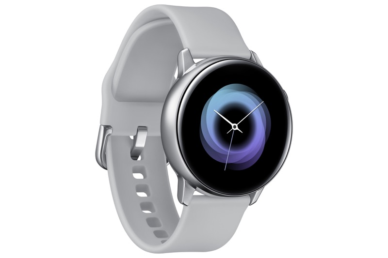 Samsung presenta Galaxy Watch Active y Galaxy Buds en México - galaxy-watch-active_silver