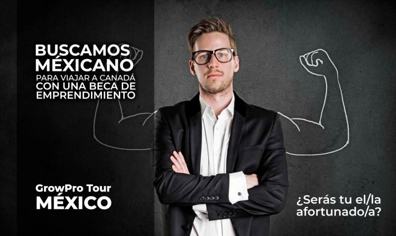 Se busca mexicano que quiera viajar a Canadá con una beca de emprendimiento - growpro-experience