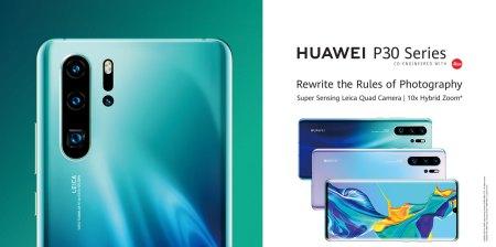 Huawei publicó sin querer detalles de sus P30 antes de su presentación oficial