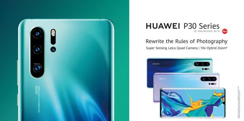 Huawei publicó sin querer detalles de sus P30 antes de su presentación oficial - huawei-p30-series-leaked
