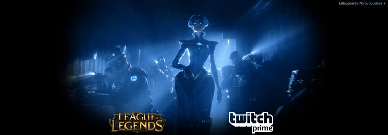 League of Legends y Twitch Prime se unen para recompensar a sus usuarios - league-of-legends-y-twitch-prime