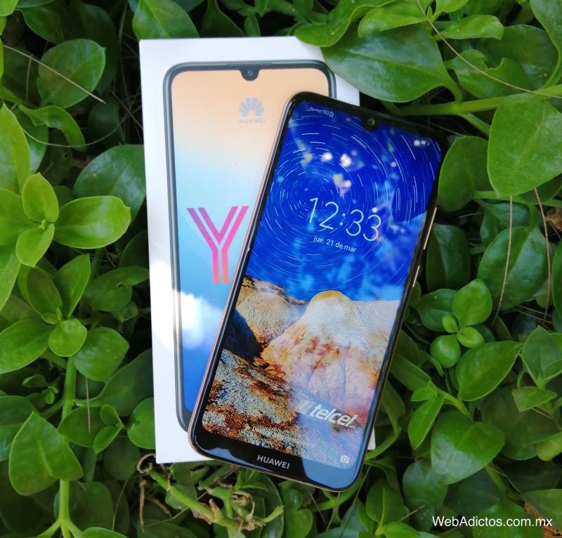 Nuevo Huawei Y6 2019 ¡conoce sus características y precio! - pantalla-y6-2019-webadictos-800x766