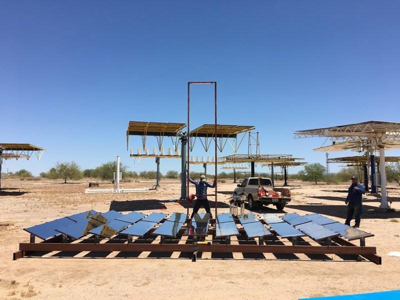 Crean científicos de México y EU tecnología que utiliza energía solar que desaliniza agua en zonas áridas - prototipo-de-unidad-de-destilacion-de-una-sola-etapa